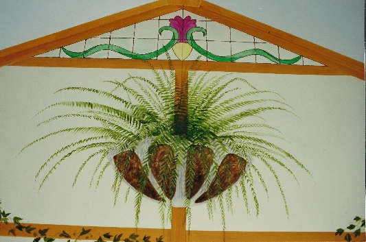 Conservatory detail